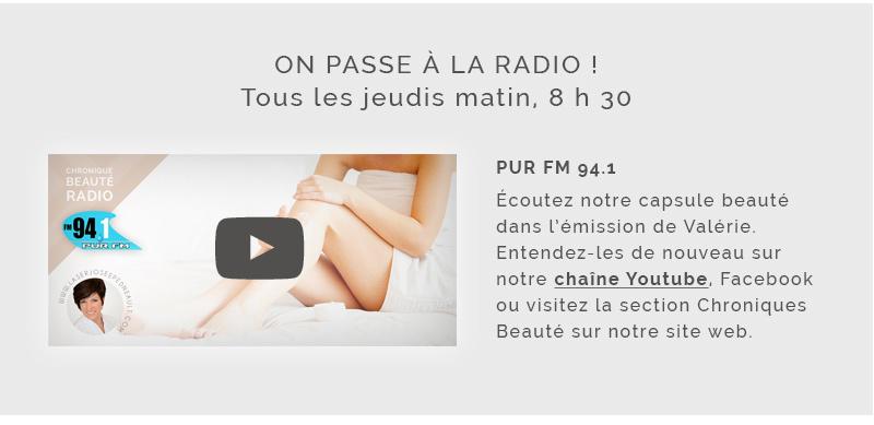 Chroniques beauté radio