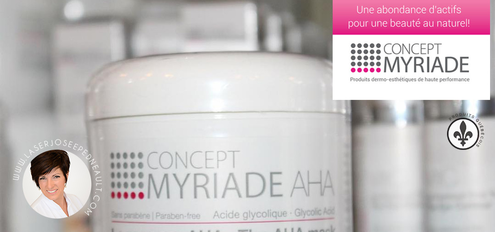 Concept Myriade produits bio Québec
