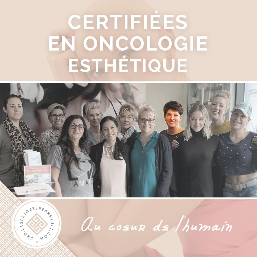 Josée Pedneault, certifiée en oncologie esthétique