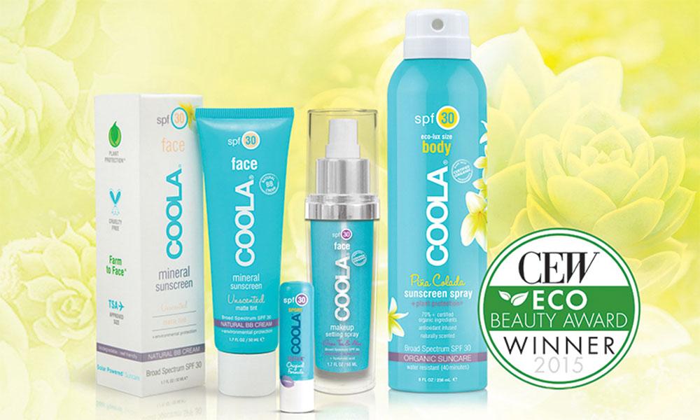 Produits Coola solaire