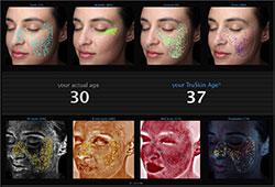 âge de la peau Visia