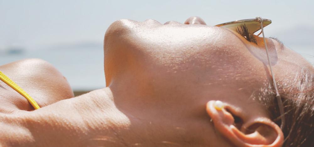 Garder la peau bien hydratée